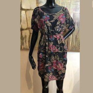 Emmelee For FC Midi Boho Dress Pockets Size Small